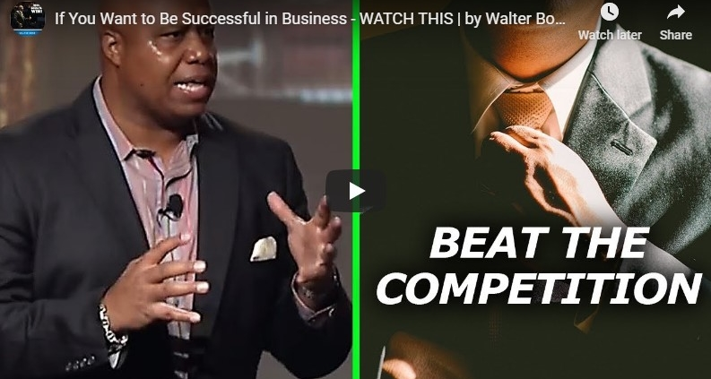 If you want to be Successful in Business by Walter Bond
